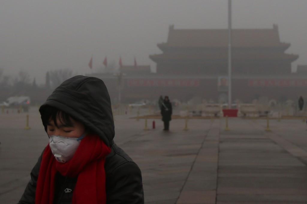 圖一、中國快速的經濟發展背後也存在著污染問題
